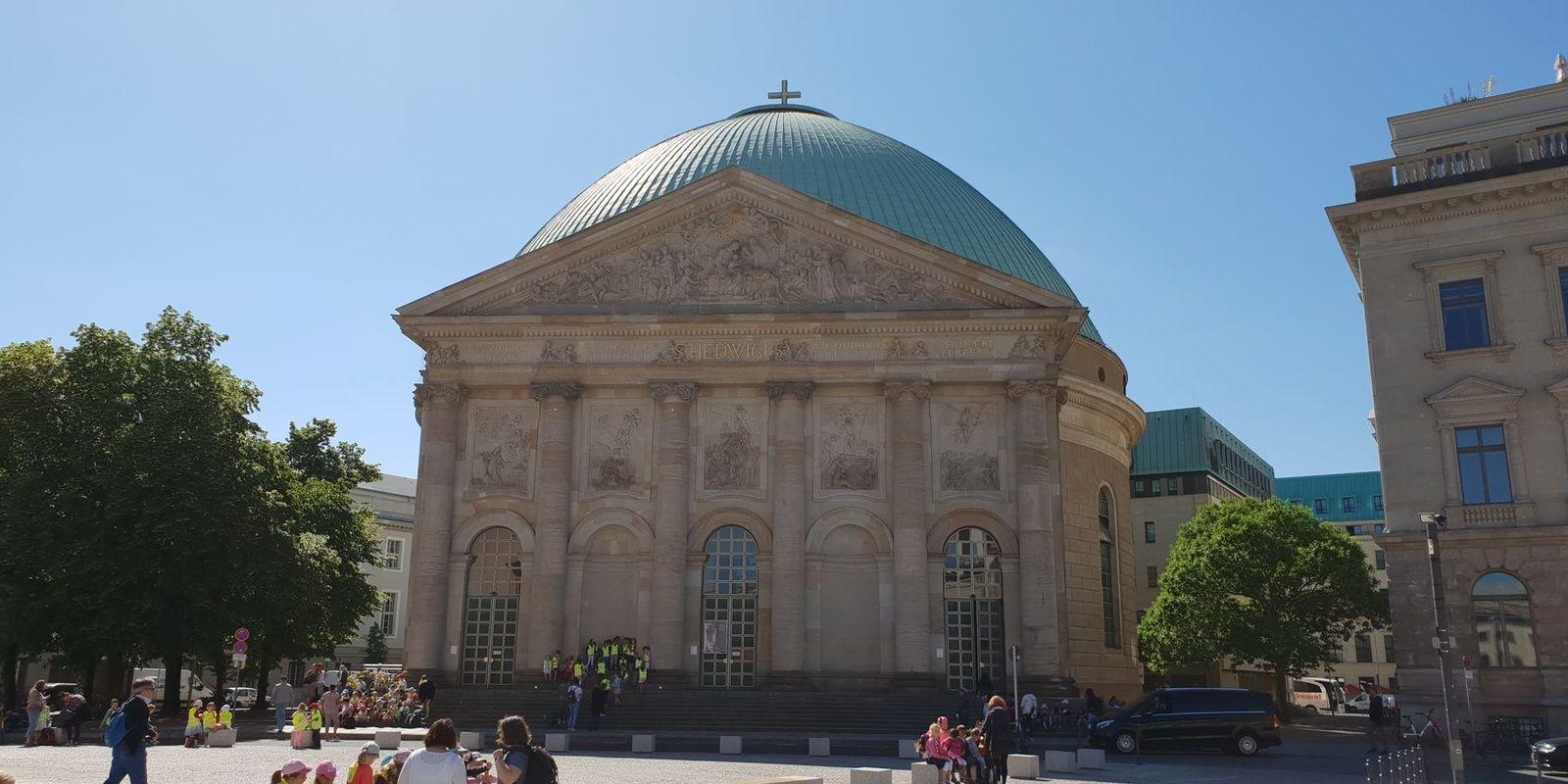 St. Hedwigs Kathedrale in Berlin