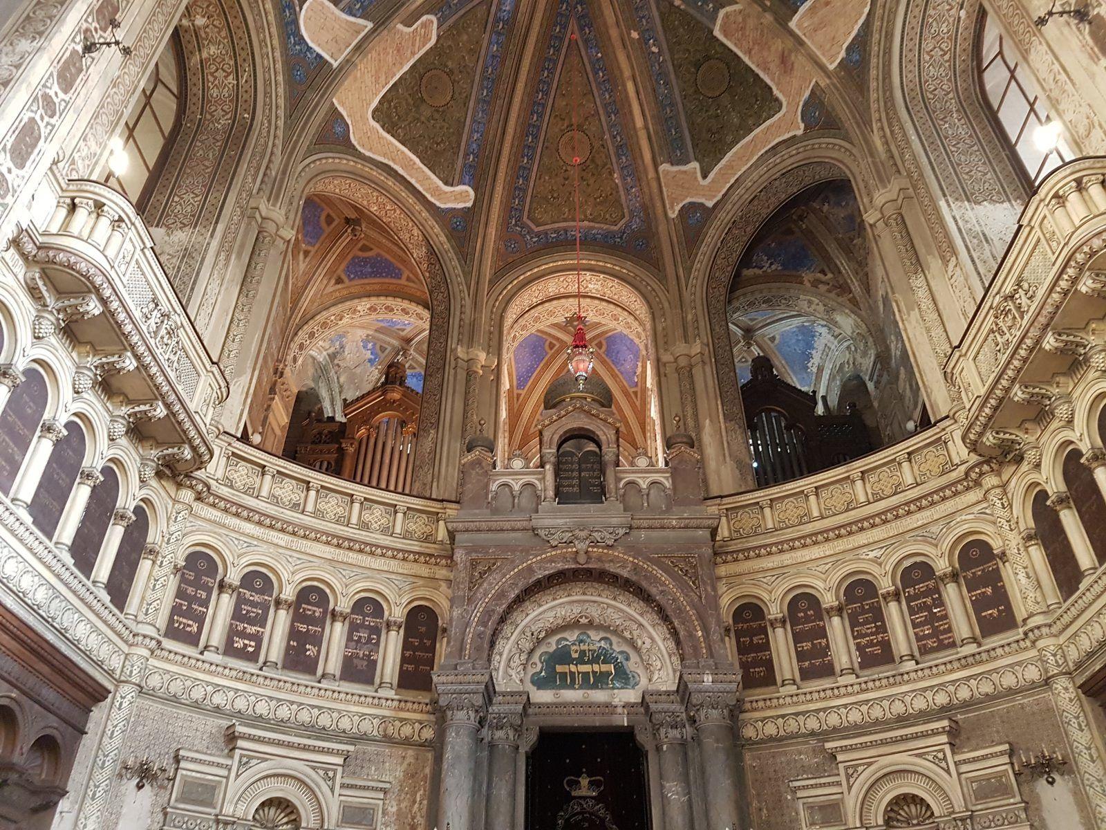 Deckengemälde große Synagoge