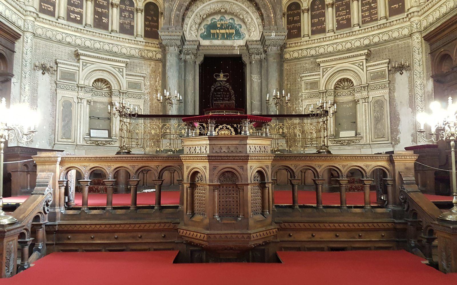 Große Synagoge innen