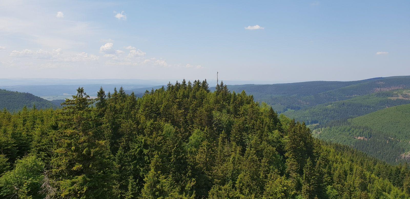 Panoramablick von der hohen M�st