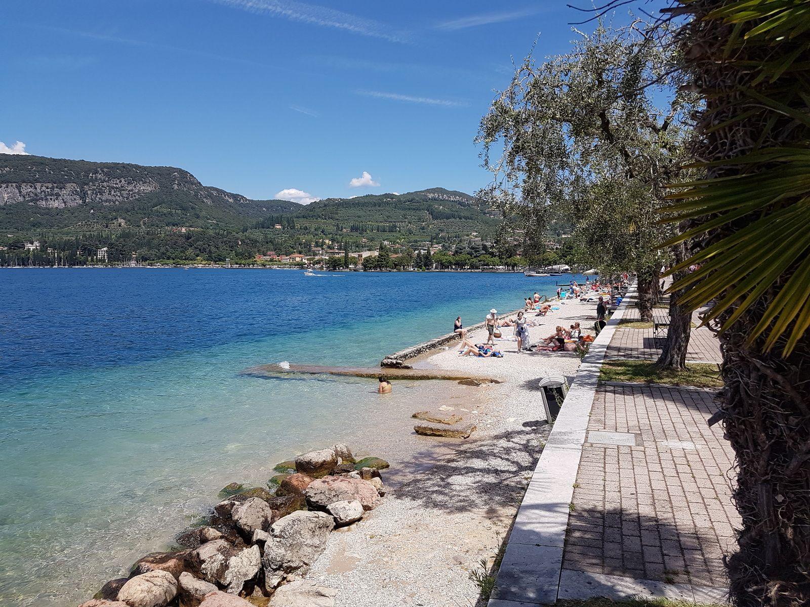 Strandteil Gardasee