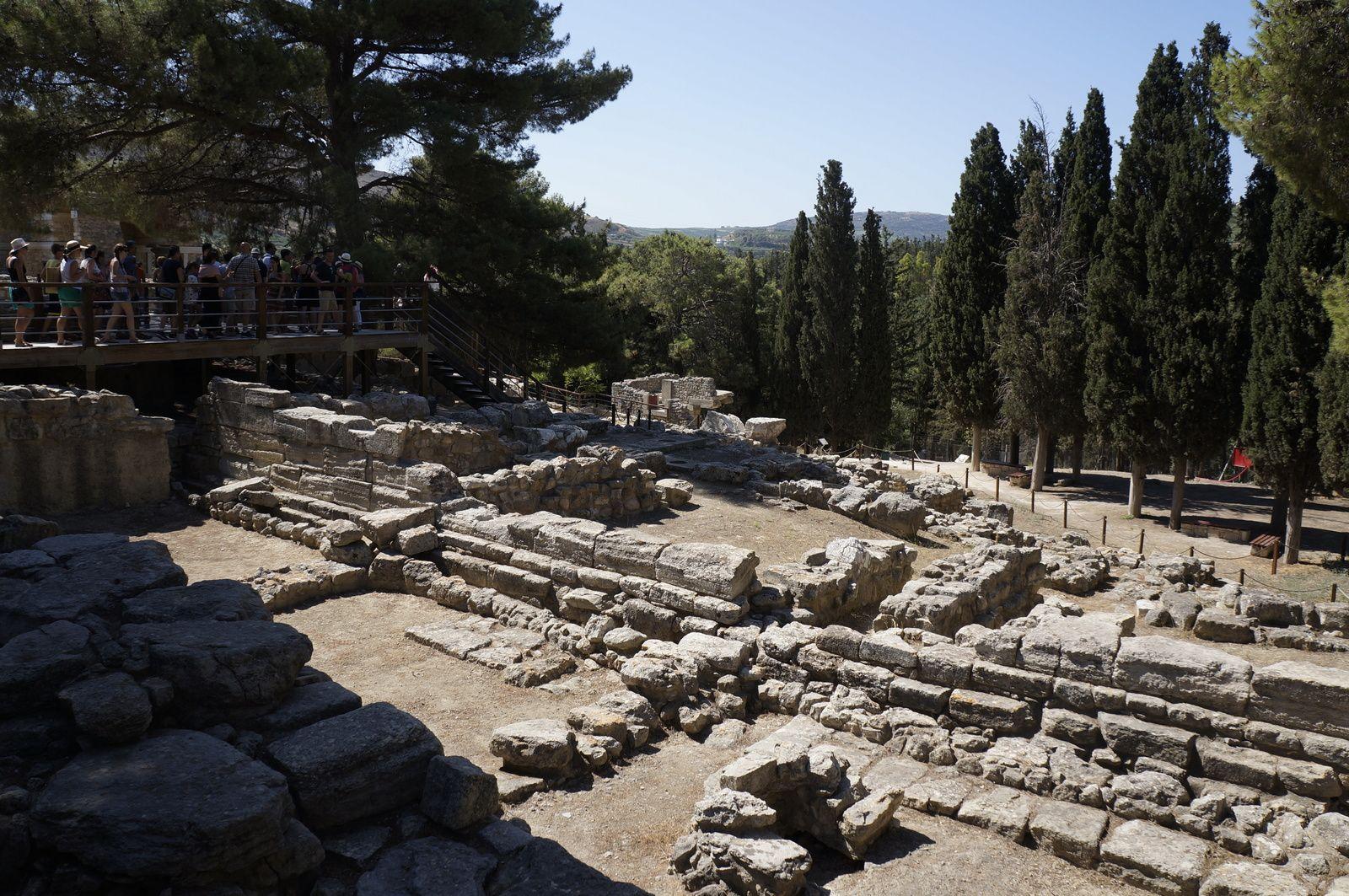 Alte Mauern von Knossos