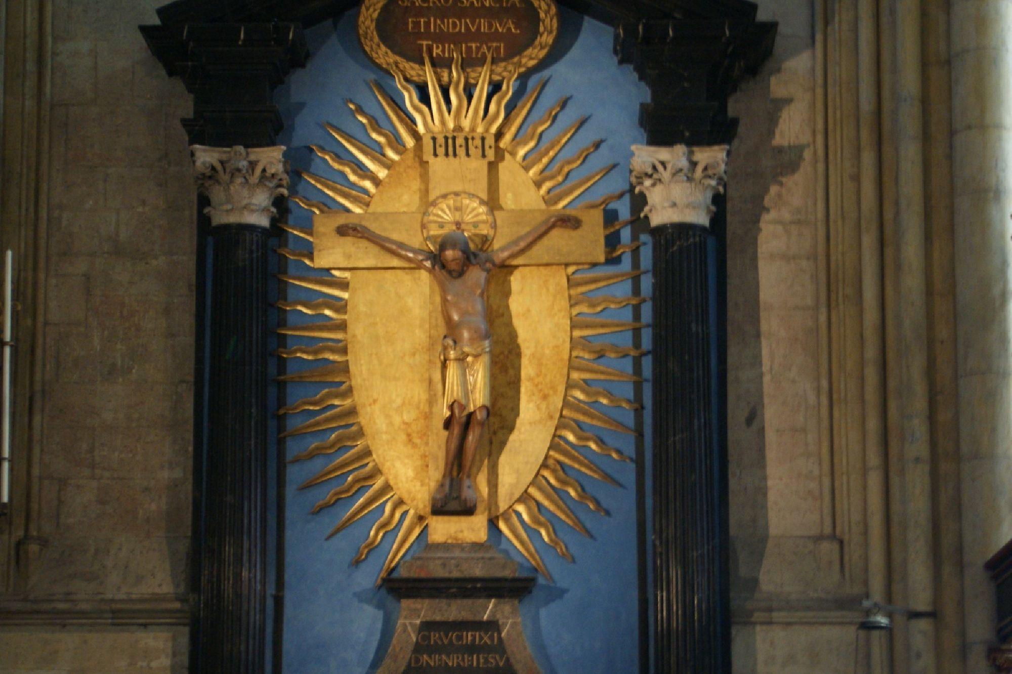 Christusfigur am Gerokreuz