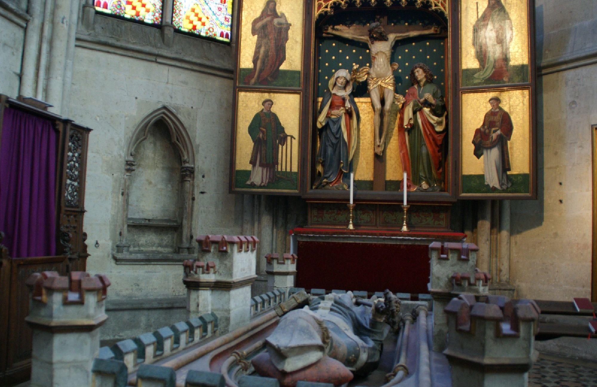 Grabmal des Doms in Köln