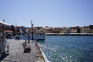 Altstadt mit Hafen von Chania