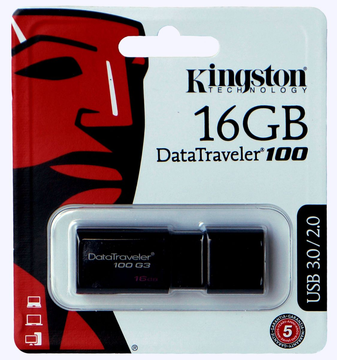 USB-Stick Kingston Datatraveler 16GB